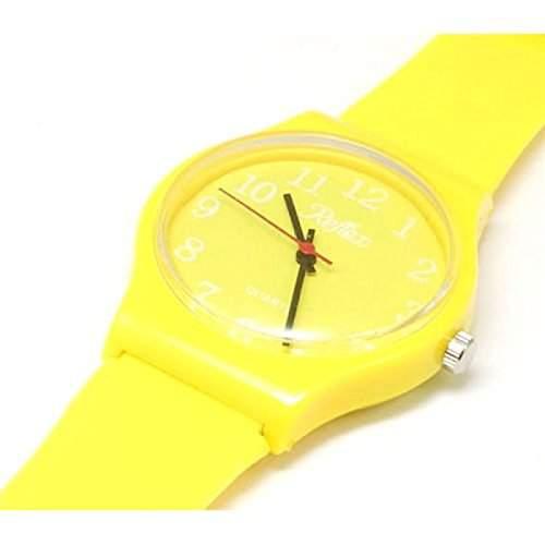 Reflex - 1560103U - gelbe Plastik-Armbanduhr  Uhr Unisex