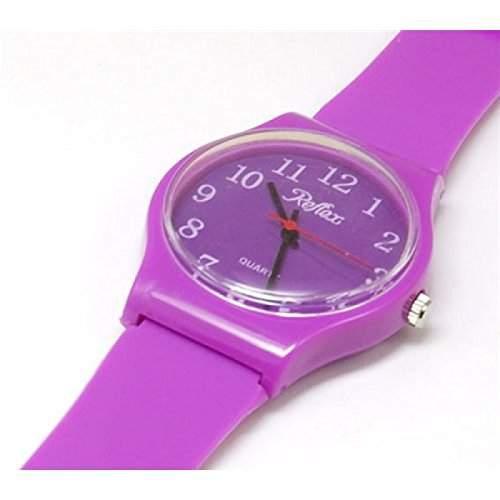 Reflex - 1560105U - lila Plastik-Armbanduhr  Uhr Unisex