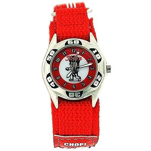 Montre Reflex Garçon à Quartz Cadran Motif KaratéJudo Bracelet Velcro Rouge
