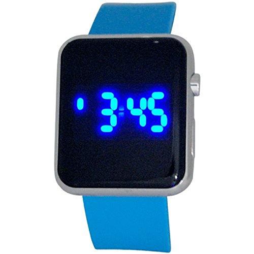 Reflex Teenage Digitale Multifunktions Armbanduhr Blaues Gummiband Armbanduhr REF0082