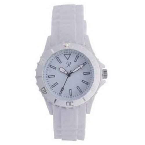 Reflex - SR006 - Weisse Silikon Uhr  Armbanduhr Unisex