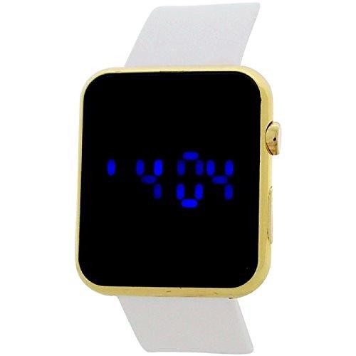 Reflex Teenage Digital Multifunktions Weiss Gummi Casual Armbanduhr ref0081