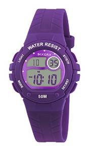 Reflex Tikkers Kinder Digitale Armbanduhr mit Lila Silikonband rtk0004