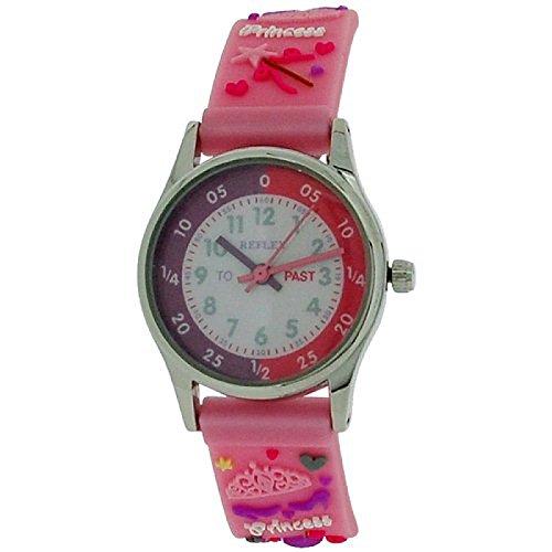 Reflex Zeitlern rosa 3D Prinzessinarmband REFK0009