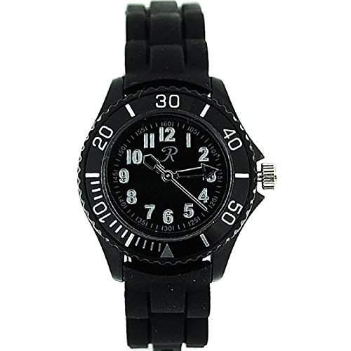 REFLEX Analoge UnisexDamen Sport-Armbanduhr mit Silikonarmband SR205