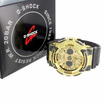G ga200gd Shock Herren Armbanduhr Kanarischen schwarz Lab Diamanten Custom Analog Digital Verkauf