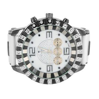auf Verkauf Zebra Muster Simuliert Diamant Luenette rund Face Jojo Style