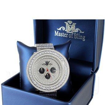 Kuenstlicher Lab Diamant Edelstahl massiv Master of Bling Joe Rodeo