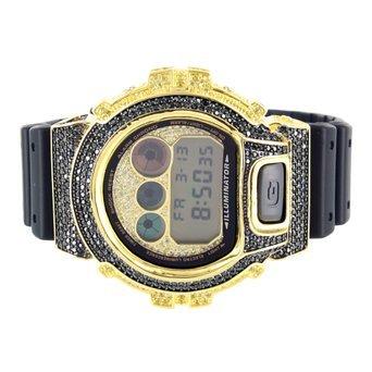 Schwarz Gelb G DW6900 Shock Silikon Gummi Band G Armbanduhr Shock Verkauf