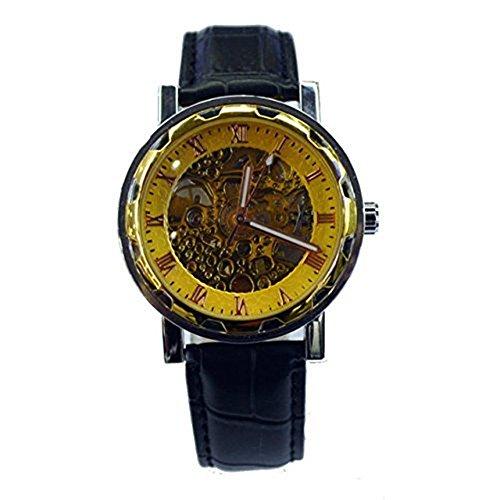 kangshi 111 Herren Automatik Skelett Mechanische Militaer Uhr Herren Mechanische Uhr Full Edelstahl Armbanduhr Fashion Uhren