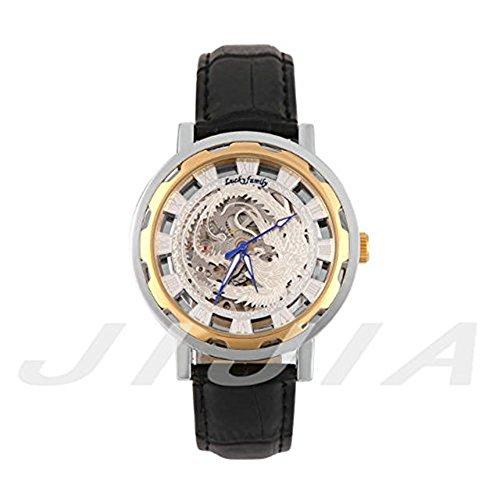 G8119 Herren Automatik Skelett Mechanische Militaer Uhr Herren Mechanische Uhr Full Edelstahl Armbanduhr Fashion Uhren