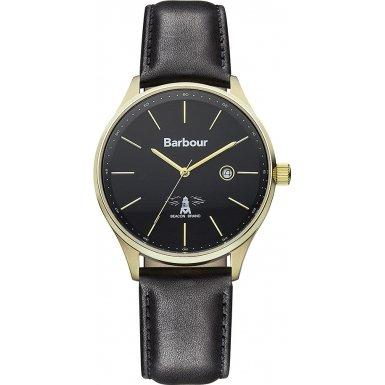 Barbour BB021GDBK Harren armbanduhr