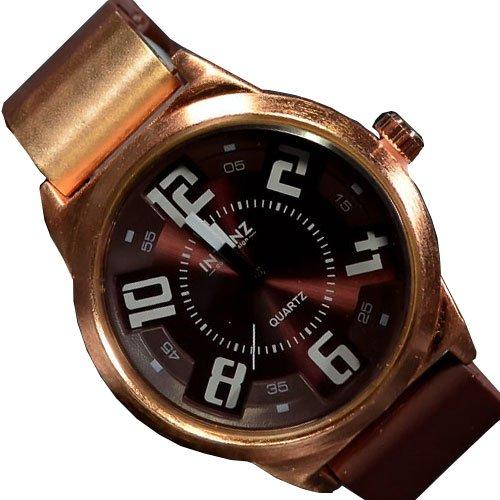 Braun Rose Klassisch und Sport Silikon Armbanduhr Retro UBoot Uh jb 501