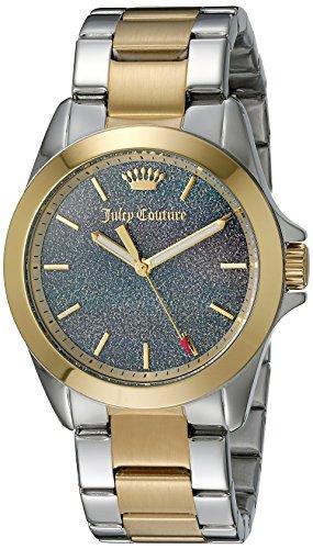 Juicy Couture Damen 1901286 Malibu Analog Display Quarz Zweifarbige Armbanduhr