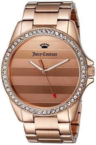 Juicy Couture Damen 1901290 Laguna Analog Display Quarz Rose Gold Watch