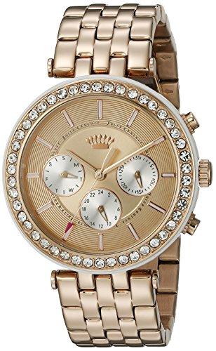 Juicy Couture Damen 1901324 Venice Analog Display Quarz Rose Gold Watch