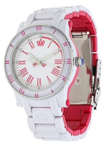 Juicy Couture Ladies HRH Bi Colour Plastic Bracelet Watch 1900750