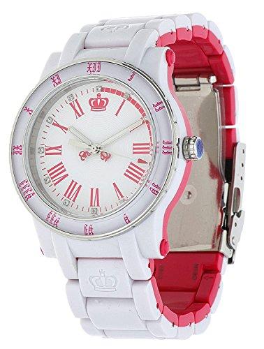 Juicy Couture Ladies HRH Bi Colour Plastic Bracelet Watch 1900750