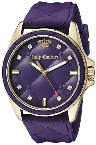 Juicy Couture 1901316 Malibu Analog Display Quarz violett