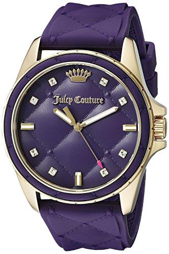 Juicy Couture 1901316 Malibu Analog Display Quarz violett