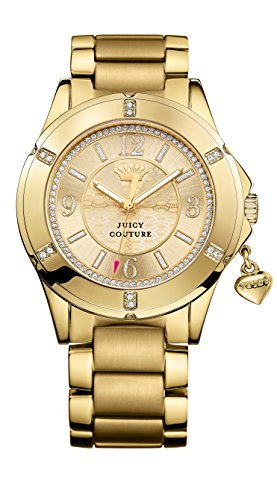 Juicy Couture Damen Rich Girl PVD vergoldet Stone Set 1901200