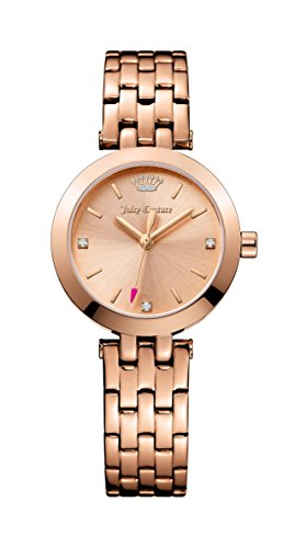 Juicy Couture Damen Cali Rose Gold Ton Edelstahl Rose Gold Zifferblatt 1901460