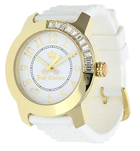 Juicy Couture Ladies BFF White Dial Crystal Watch 1900731