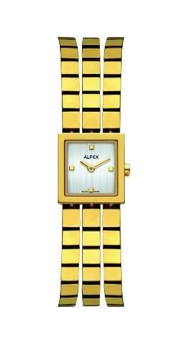 Alfex fuer Frauen-Armbanduhr Analog Quartz 5655_021