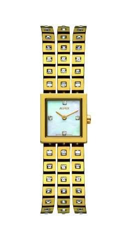 Alfex fuer Frauen-Armbanduhr Analog Quartz 5661_756