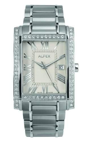 Alfex Herren-Armbanduhr Analog edelstahl 5667_761