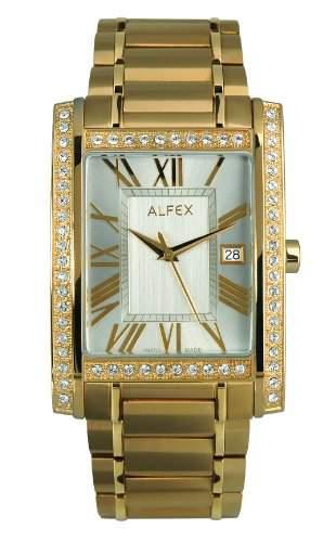 Alfex Herren-Armbanduhr Analog edelstahl 5667_772