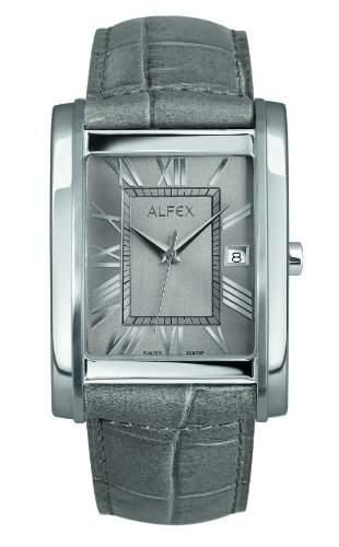 Alfex Herren-Armbanduhr Analog Leder 5667_828
