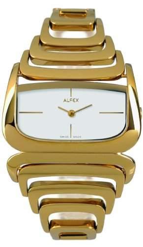 Alfex fuer Frauen-Armbanduhr Analog Quartz 5669_021