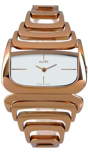 Alfex fuer Frauen-Armbanduhr Analog Quartz 5669_613