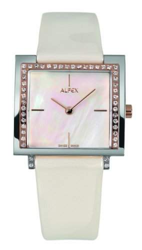 Alfex Damen-Armbanduhr Analog Leder 5684_822