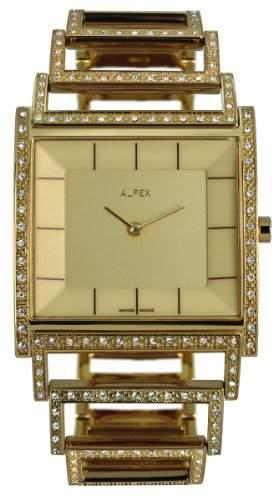 Alfex fuer Frauen-Armbanduhr Analog Quartz 5688_817