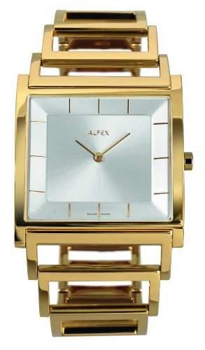 Alfex Damen-Armbanduhr Analog edelstahl 5694_021
