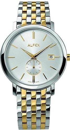 Herren Alfex Uhr Stahl und Beschichtung 5703 041