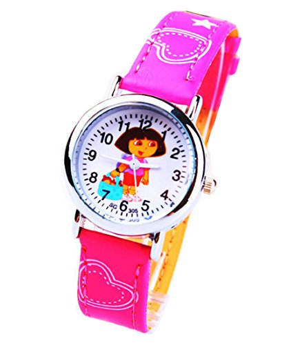 Dora children kids cartoon Uhren Watches Belt Watch WP KTW162009M