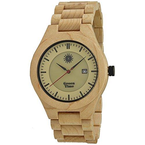 Uhr nur Zeit Herren Green Time Casual Cod zw031 a