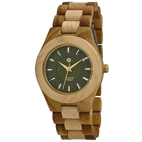 Uhr nur Zeit Unisex Green Time Casual Cod zw032 a