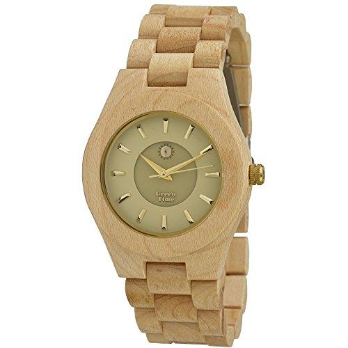 Uhr nur Zeit Unisex Green Time Casual Cod zw032b