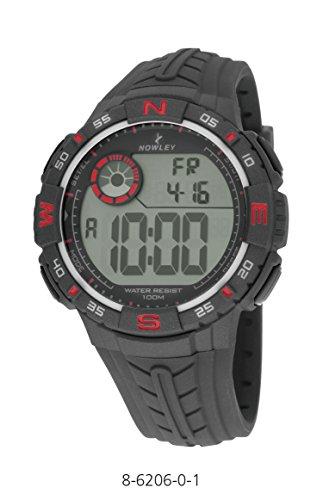 Herren NOWLEY Uhr 8 6206 0 Digital Alarm Crono