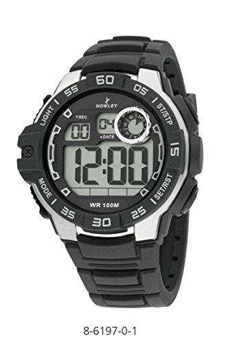 Uhr Nowey 8 6197 0 Digital Kautschuk Armband