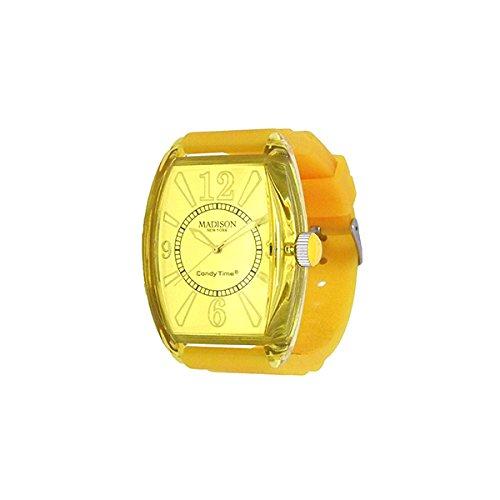 Madison Uhr Retro gelb
