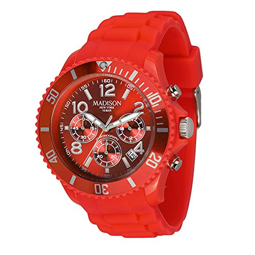 Madison Uhr Candy Chonos Farbe coral red