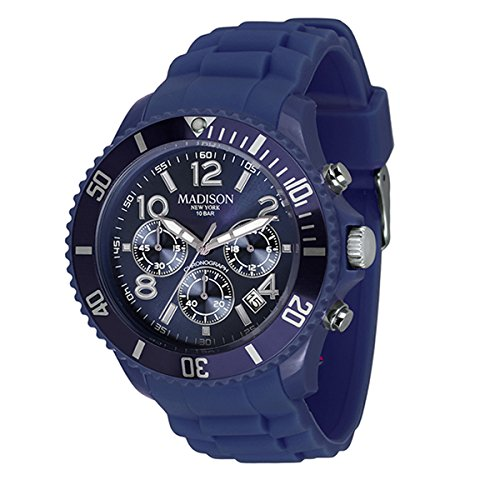 Madison Uhr Candy Chrono Farbe navy