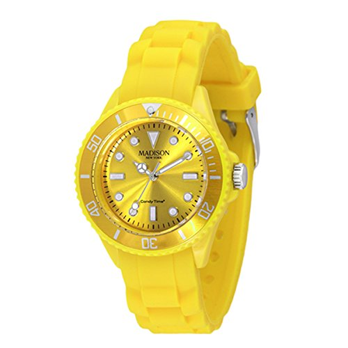 Madison Uhr Candy Time Mini Farbe Yellow