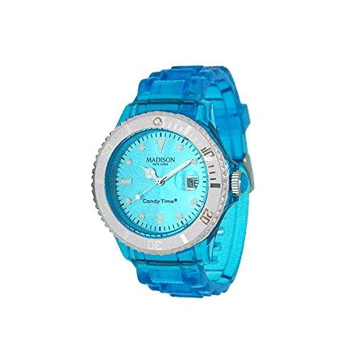 Madison Uhr Jelly Mix blau