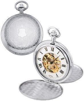 Colibri klassischen mechanischen Skeleton Taschenuhr 17 Jewels mit Easy to Read Numbers PWS095809X